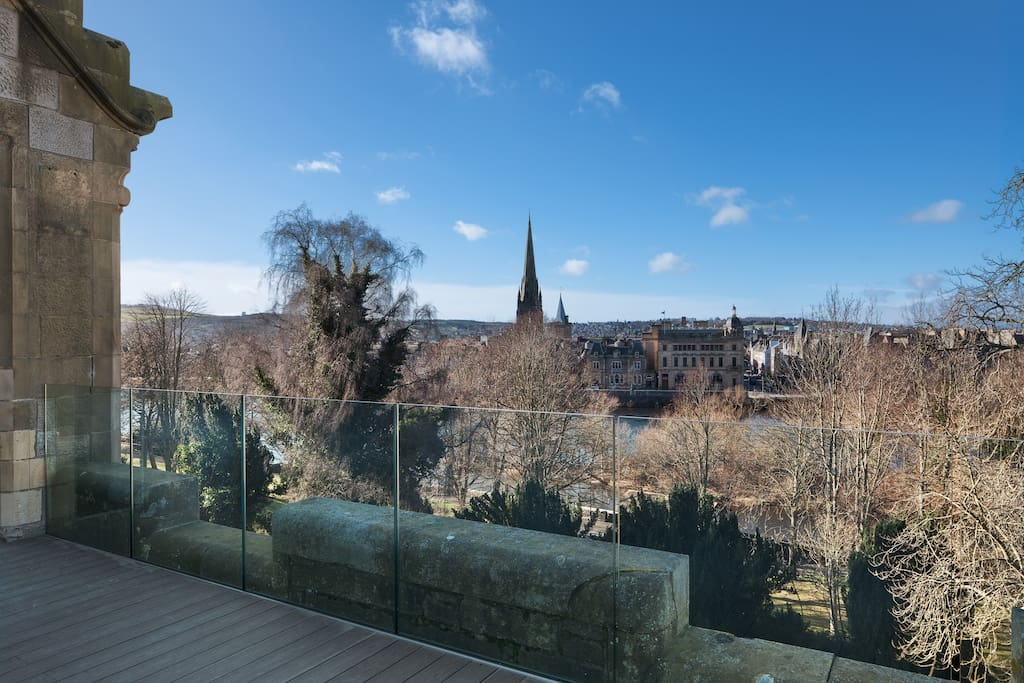 Fabulous terrace, with stunning views