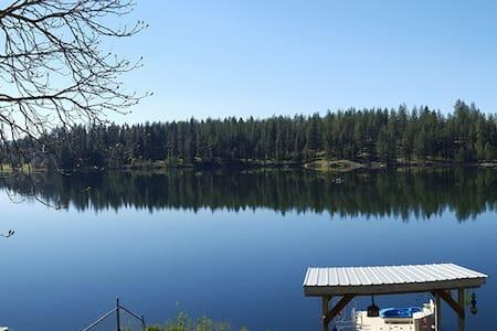 Spokane Area Lake Home - Medical Lake - Ház