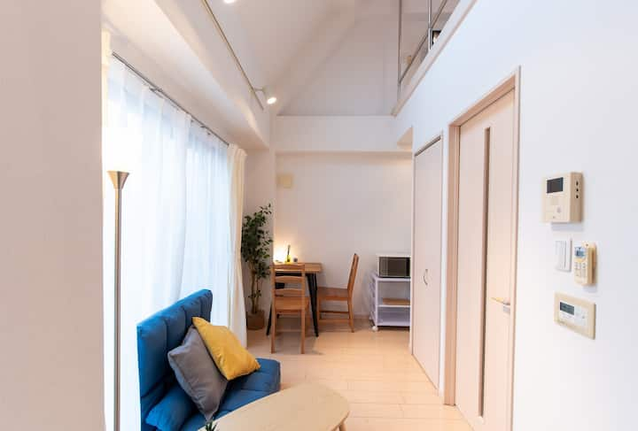 Near Shinjuku&Waseda 5ppl stay bb05