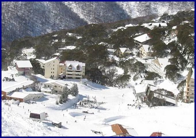 Snow Fall at Crows Nest -  Ski In - Ski Out - Falls Creek - Hus