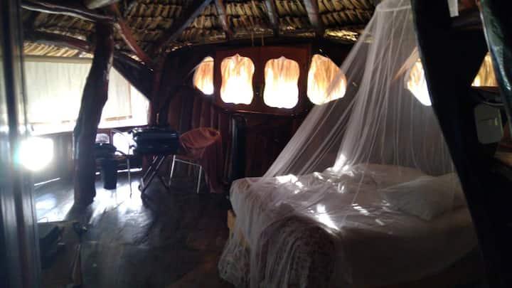 """Habitación """"La Palapa"""" en La Quinta Orquídea"""