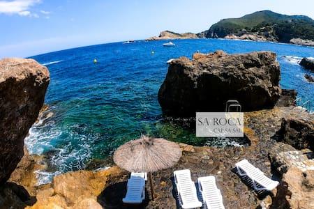 Cap Sa Sal/Sa Roca 1 -Studio acceso directo al mar