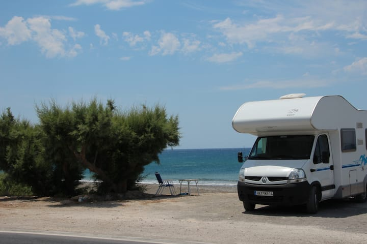 Crete by camper, see it all!