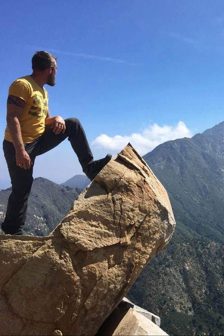 Vue sur La majestic  Campana