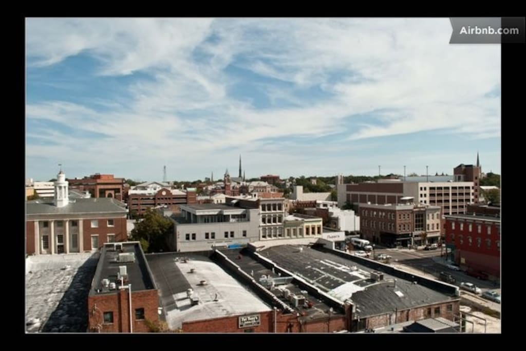 ROOF TOP TERRACE VIEWS OF HISTORIC WILMINGTON