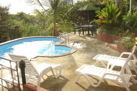 Private home and pool! Great views! - Manuel Antonio