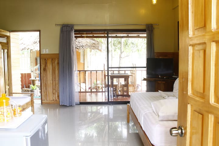 Studio-type fully furnished cabin room suite