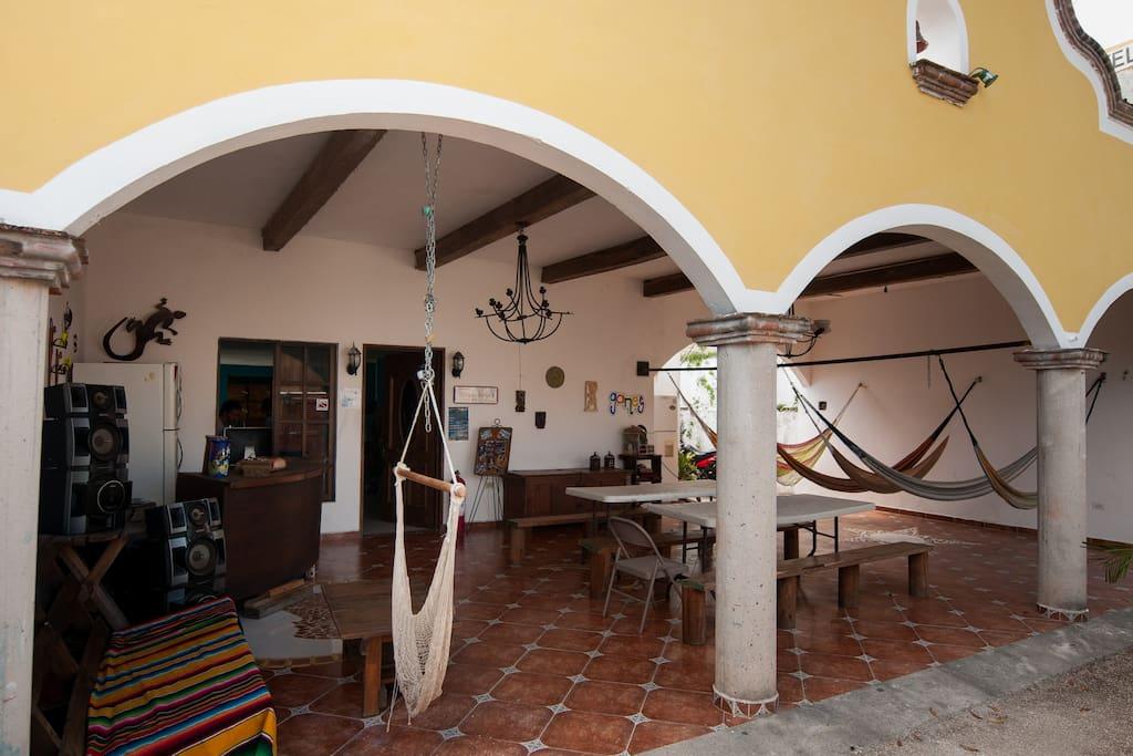 Slow Travel @ Hostel Ka'beh, Cancun