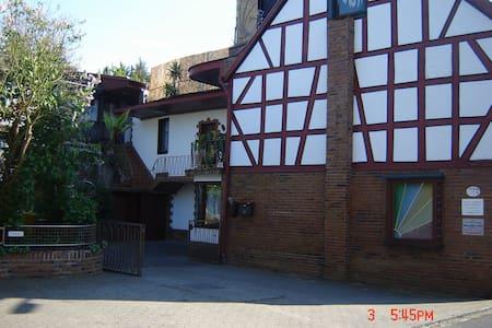 Einzelzimmer mit TV, WiFi eigener Eingang - Bad Breisig - Rumah