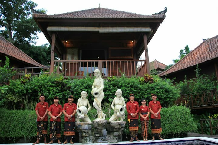 SIDEMAN Blissful BARONG VILLA - Room Yudistira