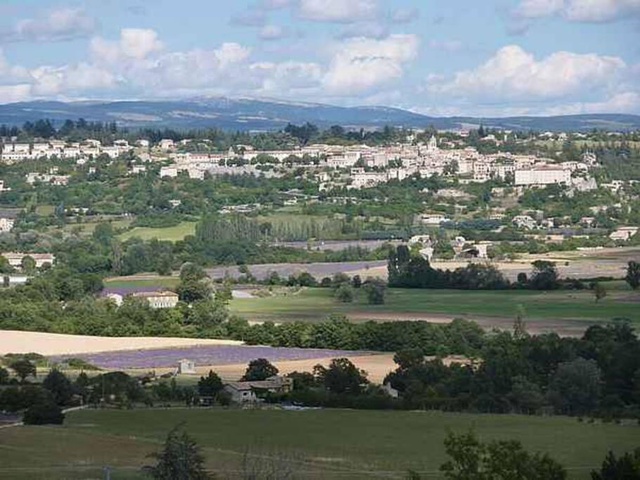 Village de Sault en Provence