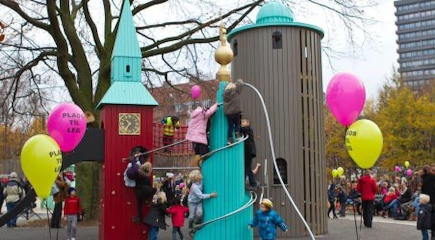 Fælledparken - playground