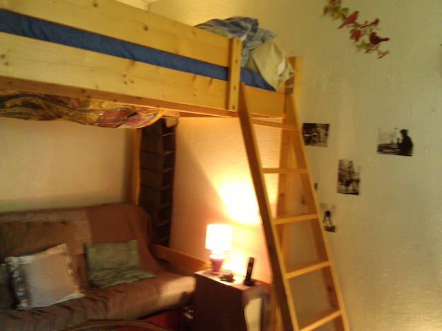 Chambre avec mezzanine nogent sur m - Nogent-sur-Marne - Bed & Breakfast