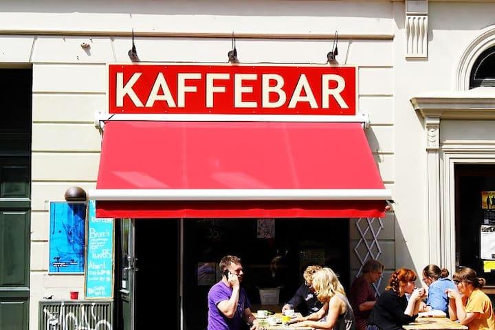Cafe Røde Rose at Balders Plads