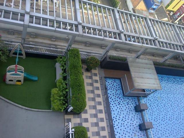 Homy 42m2 apartment @Thamrin City - Kota Jakarta Pusat - Flat