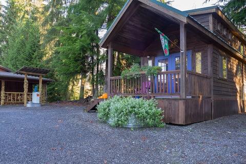 Burl Wood Tiny Home