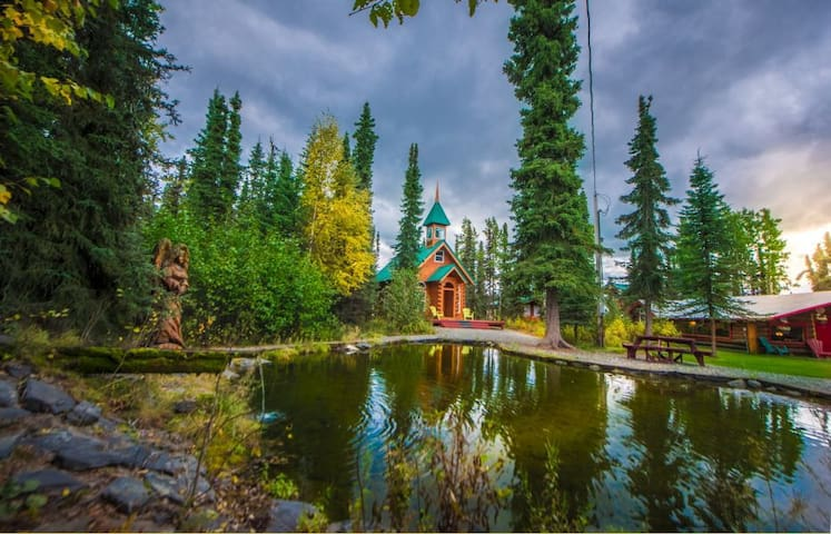 Chapel Lodge by famous Kenai River in Soldotna, AK