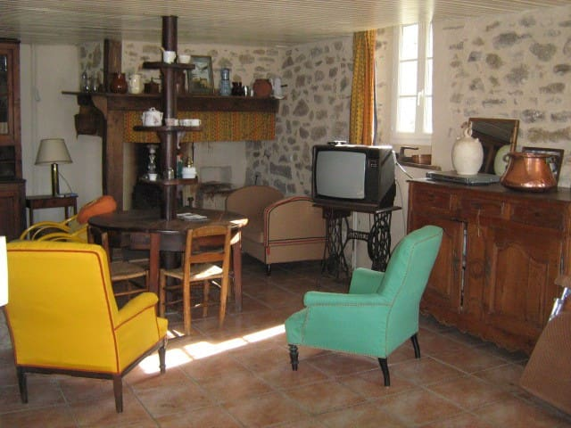 LOt in village house near Figeac - Felzins - Leilighet