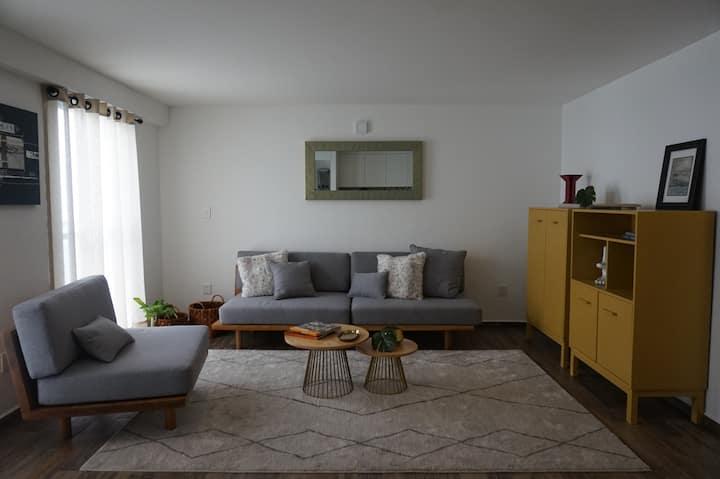 Depa moderno bonito entero Tacuba Centro IPADE