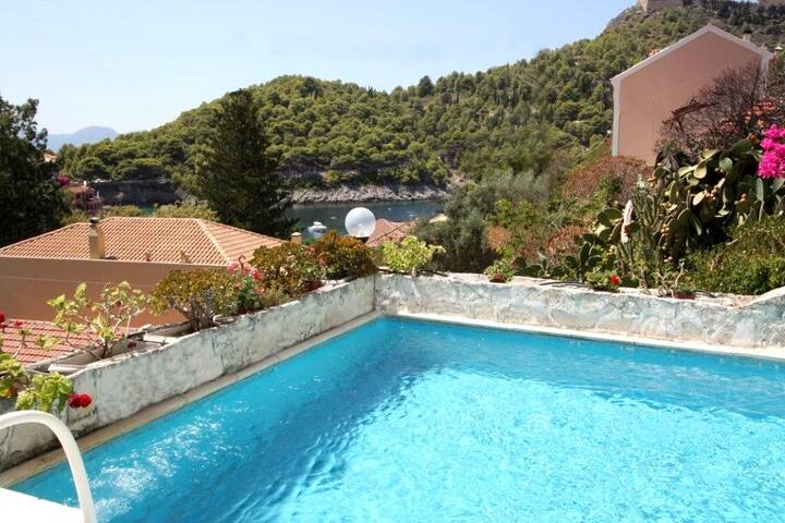 Blue Note House villa with private pool in Assos - Kefalonia Prefecture - Villa
