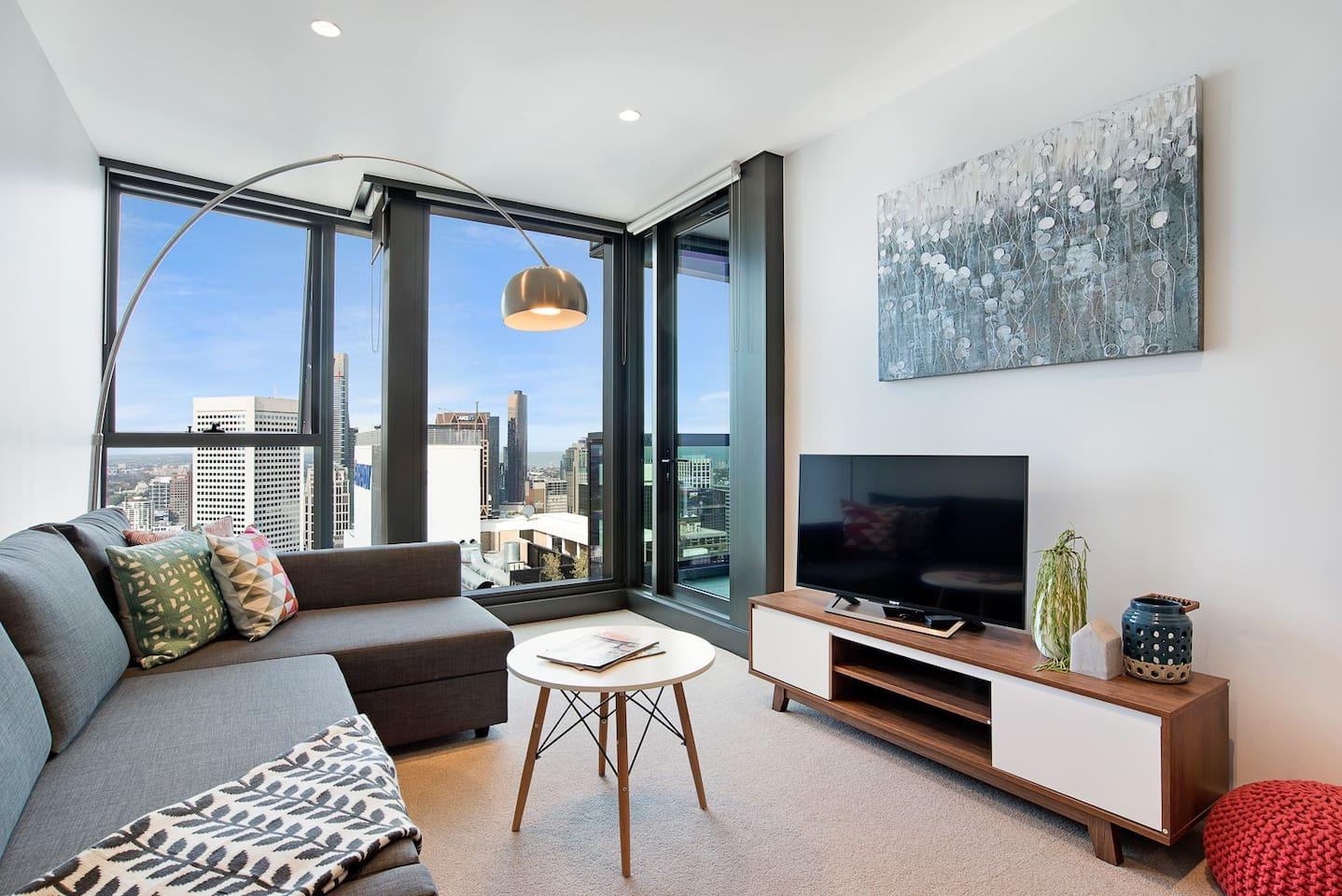 """Living Room - SONY 43"""" Smart TV"""