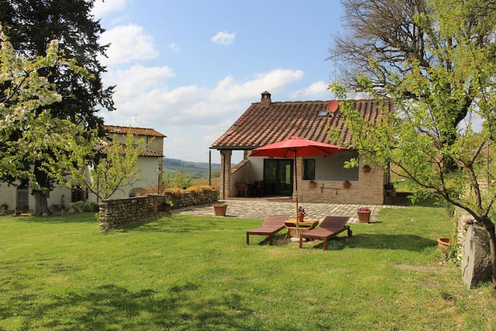 Relax and nature on Tuscan hills - San Casciano in Val di Pesa