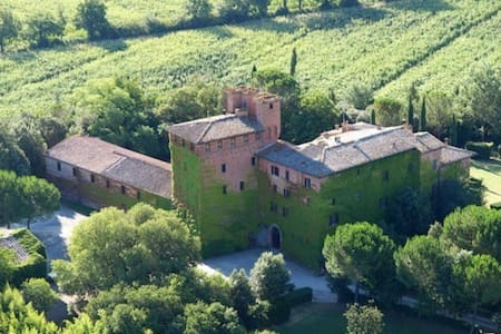 Suite with Breakfast in Tuscan Family Castle - Siena