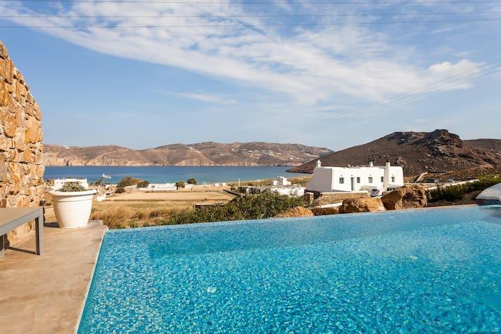 Villa Babylon with pool and sea view - Mikonos - Villa