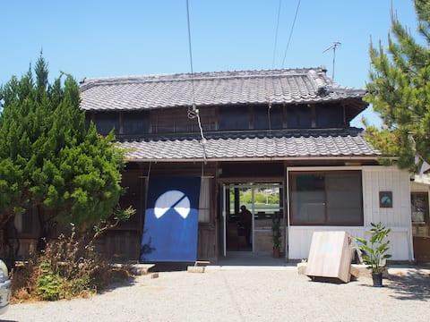 Nobi Nobi Day in a rental house where you can enjoy all of Awaji Island