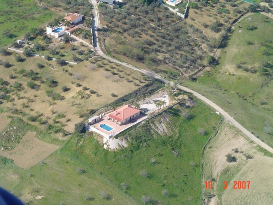Villa Tierra Roja From 500 meters