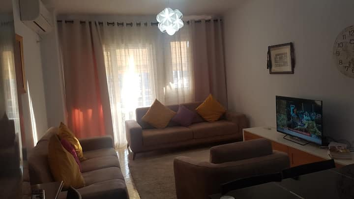 A comfortable and spaciouse apartament.
