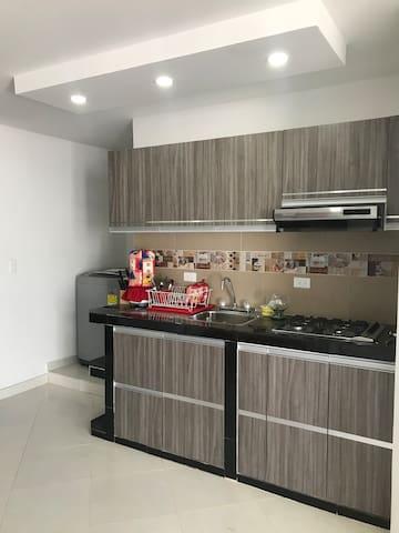 Exclusivo apartamento con excelente ubicación.