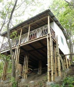 Whitehouse de la selva - San Juan del Sur - Blockhütte