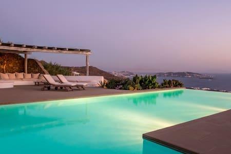 Villa Horizon, Choulakia, Mykonos - ミコノス島 - 別荘
