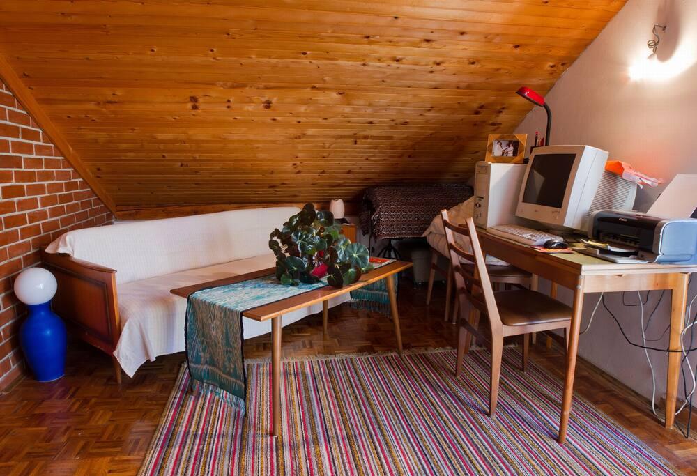 Huge Room, Center of Green Zagorje