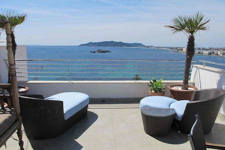 Los Molinos with amazing sea view 1 - Ibiza - Hus