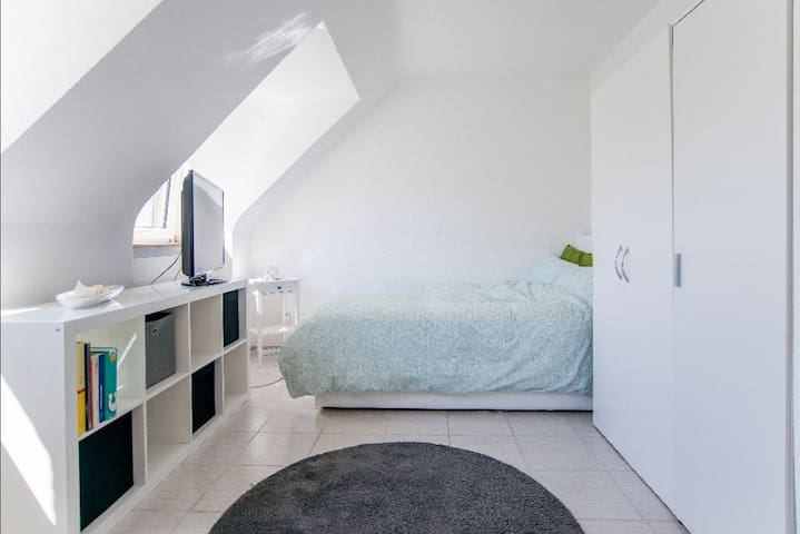 Schöne Dachgeschoss Wohnung im Herzens Düsseldorfs