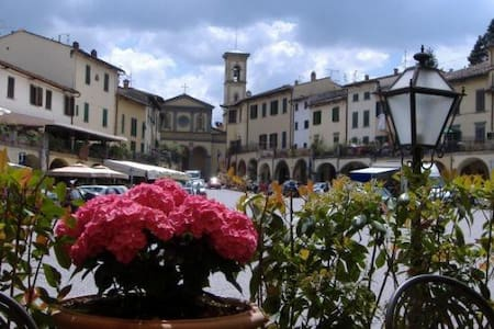 ♡ Flat with terrace in Matteotti square of Greve ♡ - Greve in Chianti - Flat