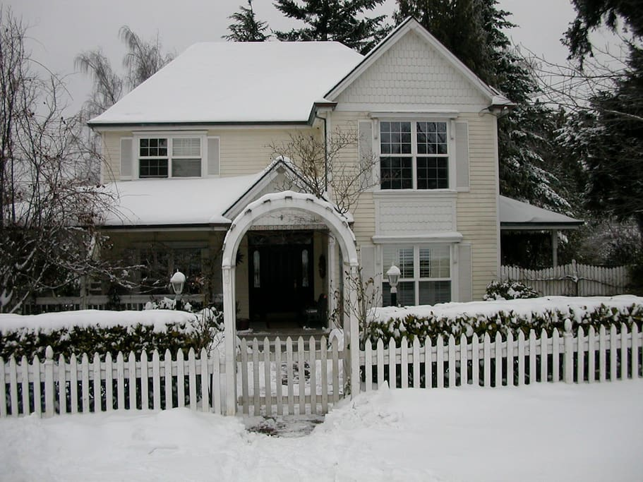 Victorian in Snow