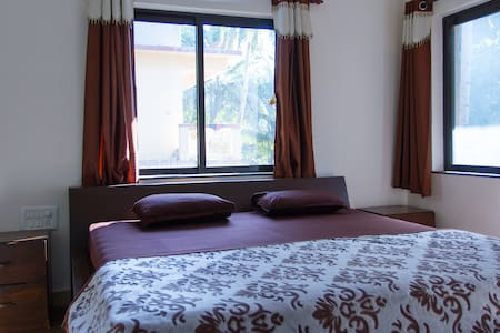 Deluxe 1BHK Apartment near the Beach in Goa