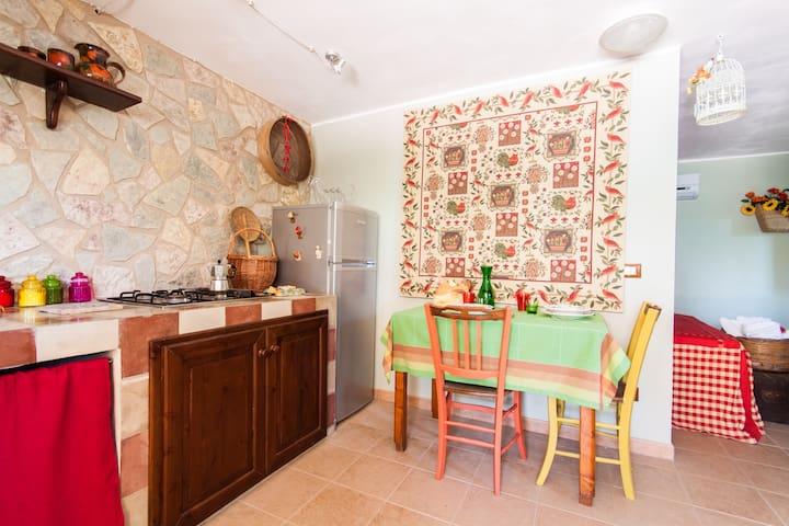 a casuzza siciliana - Sant'andrea Bonagia - Apartament