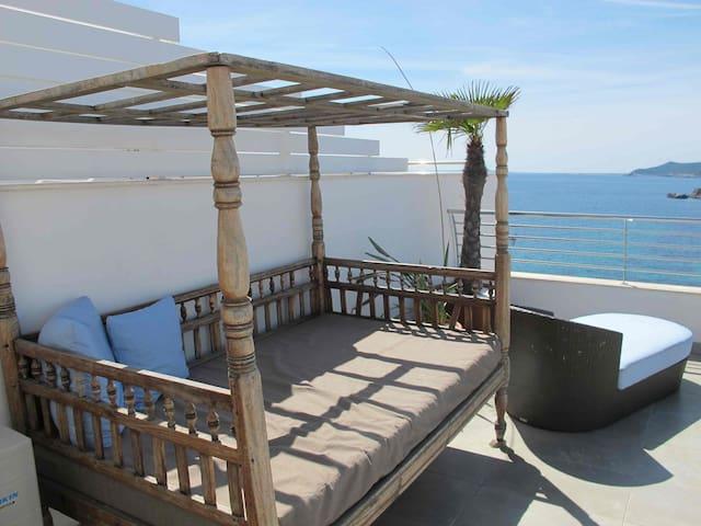 Los Molinos with amazing sea view 2 - Ibiza - Casa