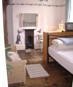 Double room in Georgian Town House - Bedford - Hus