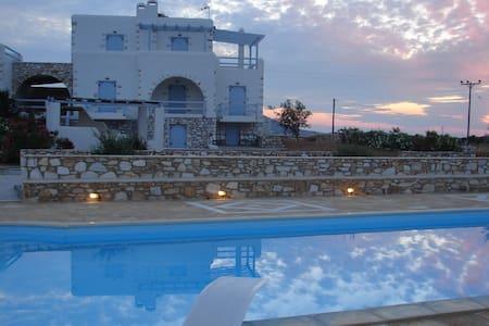 Archipelagos villas-Villa Antiparos for 10-14 - ปารอส - วิลล่า