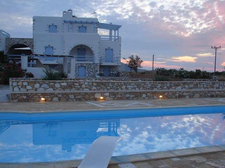 Archipelagos villas-Villa Antiparos for 10-15pax