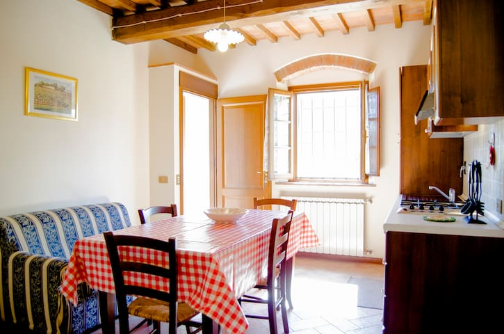 Wonderful apartment (farmholiday)  - Capraia e Limite - Apartamento