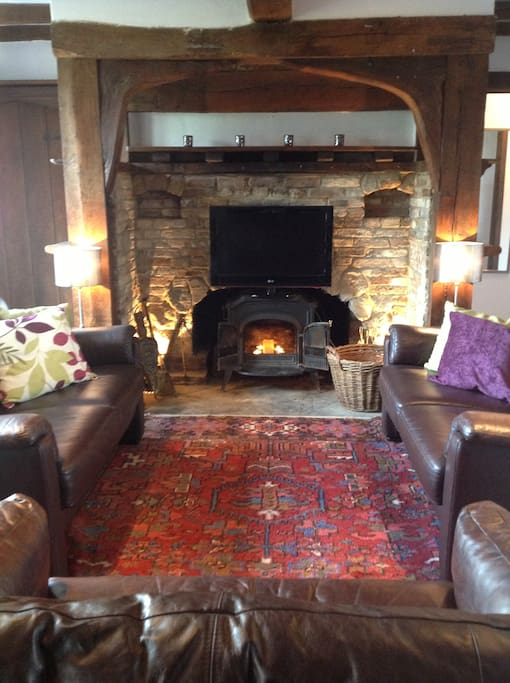 Cosy sitting room for putting your feet up at the end of a great day out