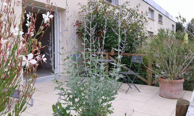 Charmant duplex, tout confort en centre Bretagne - La Chèze - Appartement