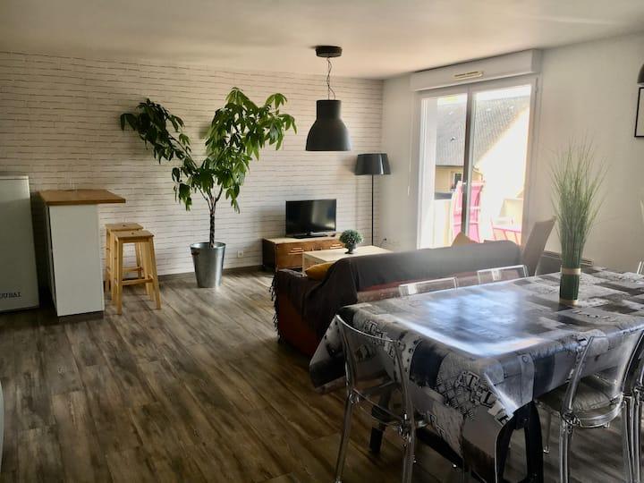 Bel appartement aux portes d'honfleur