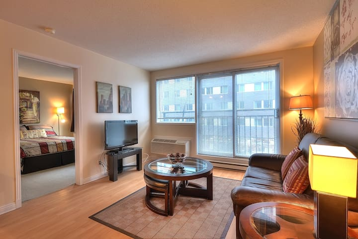 Free Indoor Parking- Downtown Montreal with WIFI - Montreal - Apartamento